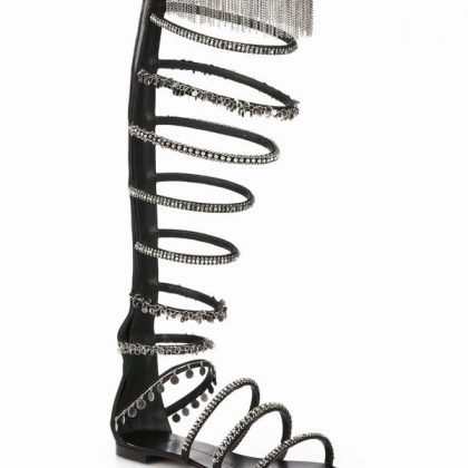giuseppe-zanotti-black-chain-trimmed-satin-knee-high-sandals-product-2-051410486-normal_1