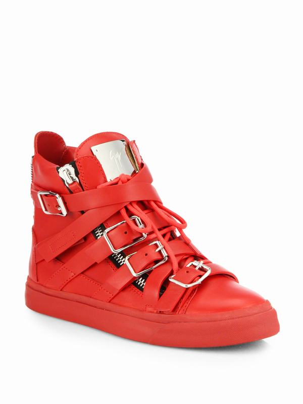 giuseppe-zanotti-red-leather-buckle-high-top-sneakers-product-1-26185753-0-527550620-normal_1
