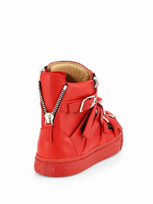 giuseppe-zanotti-red-leather-buckle-high-top-sneakers-product-1-26185753-2-527550680-normal
